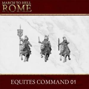 ROMAN REPUBLIC EQUITES COMMAND 01 3d printed miniatures