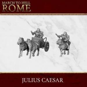 ROMAN REPUBLIC JULIUS CAESAR 3d printed miniature