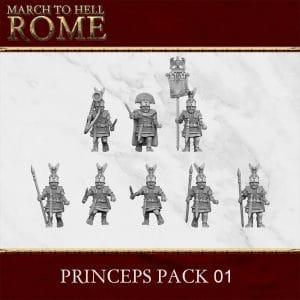 ROMAN REPUBLIC PRINCEPS PACK 01 3d printed miniatures