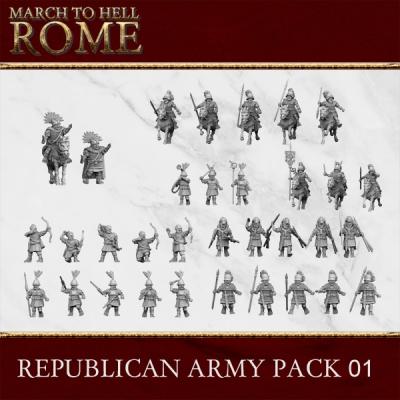 Roman Republic Army REPUBLICAN ROMAN ARMY 01