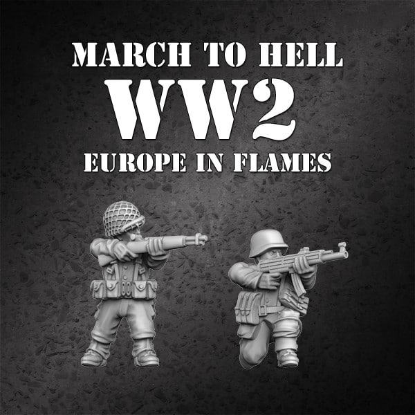 MTH ww2 Europe in Flames free miniature