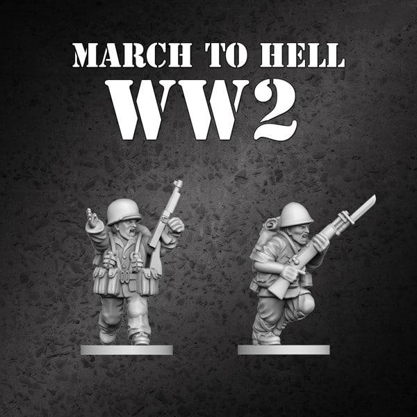 MTH ww2 STL free miniature
