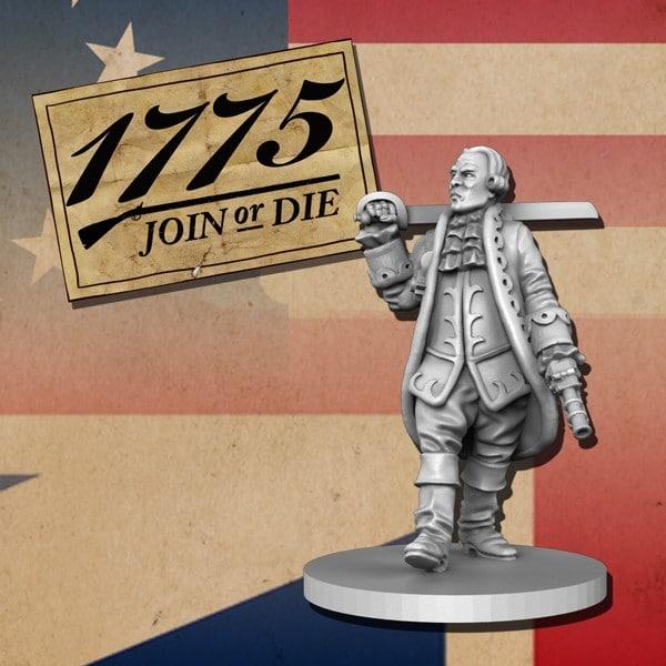 print test JOD american revolutionary war free miniature