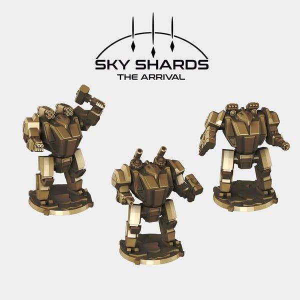 print test Skyshards free mech miniature