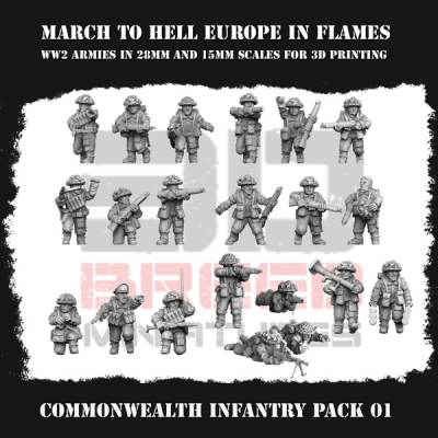 COMMONWEALTH INFANTRY PACK 01