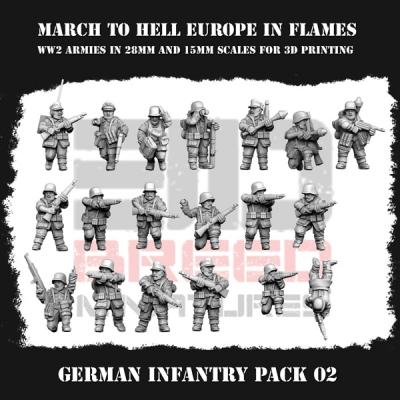 German Army (Wehrmacht) GERMAN INFANTRY PACK 02