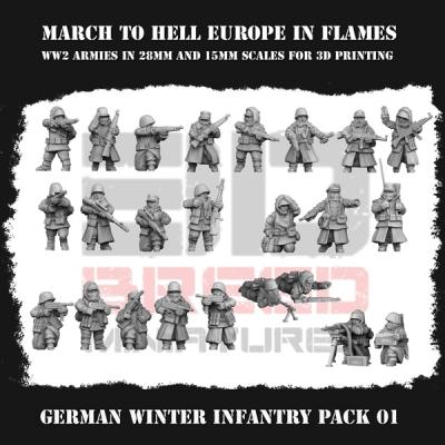 GERMAN WINTER INFANTRY PACK