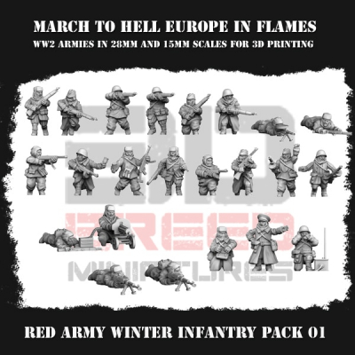 RED ARMY WINTER INFANTRY PACK