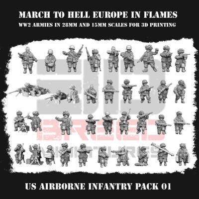 US AIRBORNE INFANTRY PACK 01